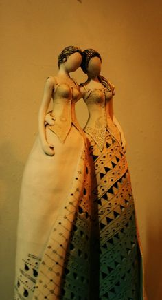 beauty ceramic dresses