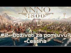 ANNO 1800 | #2 | Doživotí za pomluvu? + Čeština - YouTube Sandbox, Anna, Youtube, Movie Posters, Movies, Films, Sand Table, Sand Pit, Film