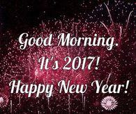 Good Morning It's 2017 Happy New Year