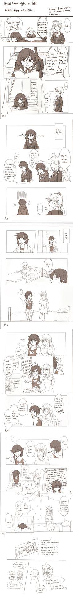 RWBY White Rose short comic by xenon54165