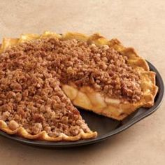 Dutch Apple Pie --Best Crumb topping-- just made this.. Turned out great! I did follow the advice of the reviews