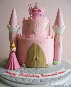 Aurora's Castle Cake – Cakes n Bakes Dubai