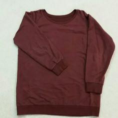 Burgandy sweatshirts Comfy, loose fit, beautiful burgandy color sweatshirts. Tops Sweatshirts & Hoodies