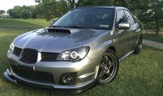 Nice front end WRX