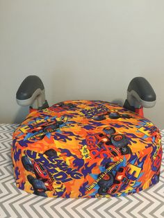 A Personal Favorite From My Etsy Shop Listing 472035315 Monster Truck Booster Car Seat Cover