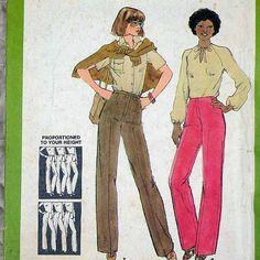 8831 SIMPLICITY Uncut PATTERN 1978 Women by DartingDogPatterns