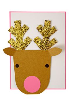 Meri Meri Reindeer Holiday Greeting Card