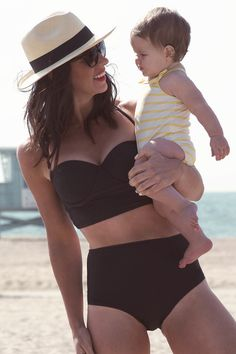 | albion fit pinup bikini | this suit! this hat! this baby! @Albion Atlantis Fit