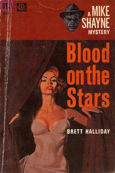 """Blood on the Stars"" by Brett Halliday - Hardboiled Broads"