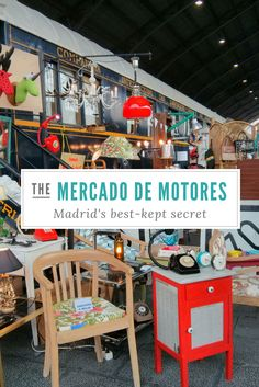 Madrid's best kept secret: the Mercado de Motores - Helen on her holidays