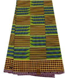African Kente Prints