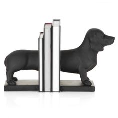 @Jamie Derekson...I think you need this! Dachshund Bookends from Z Gallerie