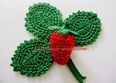 Edinir-Croche ensina frutas em croche - morangos. Visite os blog http://www.cursodecroche.com e http://www.edinir-croche.com - http://www.crochecomreceita.co...