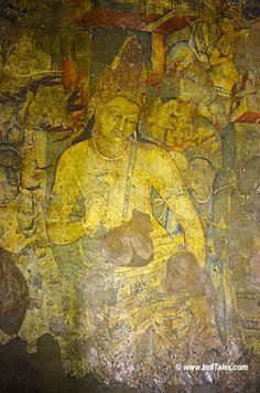 Bodhisattva Padmapani at Ajanta Cave No 1