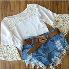 New 2015 Vintage Slim Women's Fashion Summer Tops Sexy Casual Shirts Lace Crochet Blouse Blusas Femininas Size M-XL White Lace Bell Sleeve Tee from Harper & Lily. Shop more products from Harper & Lily on Wanelo. This Pin was discovered by Mar nice dresses Best Dress For Girl, Cheap Lace Front Wigs, Moda Fashion, Womens Fashion, Cute Summer Outfits, Women's Summer Fashion, Wholesale Clothing, Nice Dresses, Ideias Fashion