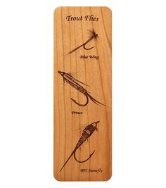 Fly Fishing Flies (Selection A) Bookmark