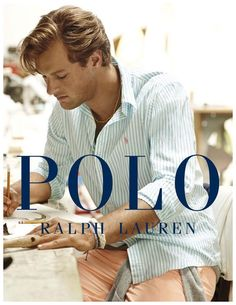 Polo Ralph Lauren Showcases Brightly Colored Shirts & Polos for Cruise 2015 Campaign