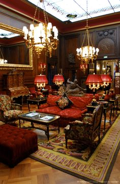 Austria, Vienna, historic center listed as World Heritage by UNESCO, Sacher hotel, the lobby of hotel