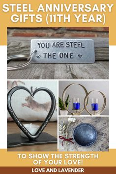 Representing strength and durability, steel items are a great reminder that marriage is all about staying strong to each other and to the bond you share. Surprise your wife or husband by giving them a gift that will grow old with you. Find them here! #weddinganniversary #weddinganniversarygifts #steelanniversarygifts #steelweddinganniversary