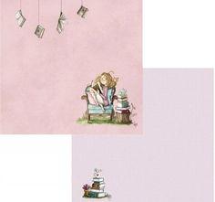 PAPEL LEYENDO COLORES 003 EL ALTILLO DE LOS DUENDES Scrapbooking, Characters, Journal, Paper Leaves, Sleeping Loft, Elves, Stickers, Stamps, Faeries