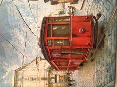 "Tram from Milan called ""Perteghetta"""