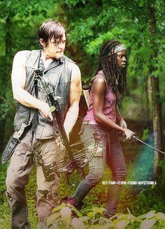 Daryl & Michonne