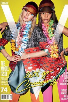 V Magazine [United States] (1 November 2011) - Candice Swanepoel, Joan Smalls