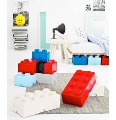Giant LEGO Brick Storage Containers