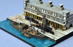 【完成輯】1/700 Keelung New Quay 基隆港新岸壁 1942 - 浪人大建.模型艦艇誌 - 樂多日誌