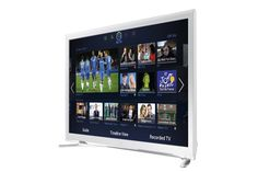 Samsung UE22F5410 22-inch Widescreen Full HD 1080p Slim Smart LED with Built-In Wi-Fi - White (New for 2013): Amazon.co.uk: TV