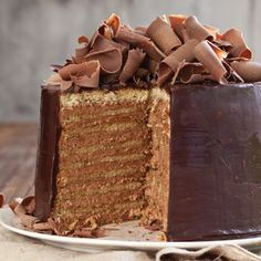 An incredible version of the famous New Orleans doberge cake, this dessert will wow your guests.