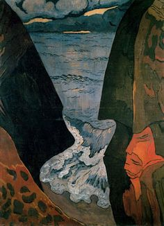 Cliffs Near Camaret by Georges Lacombe Art Print on Canvas Magnolia Box Size: Extra Large Maurice Denis, Pierre Bonnard, Matisse, Oil On Canvas, Canvas Wall Art, Impressionist Artists, Post Impressionism, Paul Gauguin, French Art
