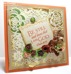 This is a beauty of a card to feature this wonderful scripture.