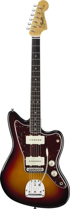 Fender American Vintage '65 Jazzmaster Electric Guitar The American Vintage '65 Jazzmaster takes you back to the middle of that musically momentous decade, when the reverb-drenched surf had largely re