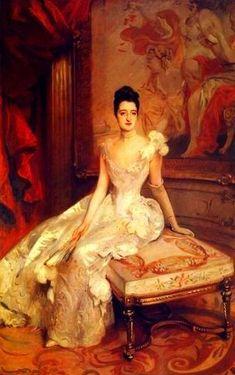 Mrs. Hamilton McKown Twombly-(Florence Adele Vanderbilt) ~ 1890 by John Singer Sargent