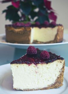 New York Cheesecake - this looks divine. I will have to make this to try the difference to the Traditional cheesecake