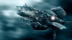 Images for Desktop: spaceship wallpaper (Bedford Fletcher 1920x1080)