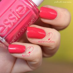 Essie Again? & Watermelon
