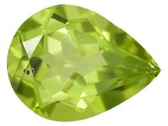 Manchurian Peridot Average 1.00ct 8x6mm Pear Shape