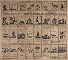 A board game with forfeits, penalties and rewards (1794)