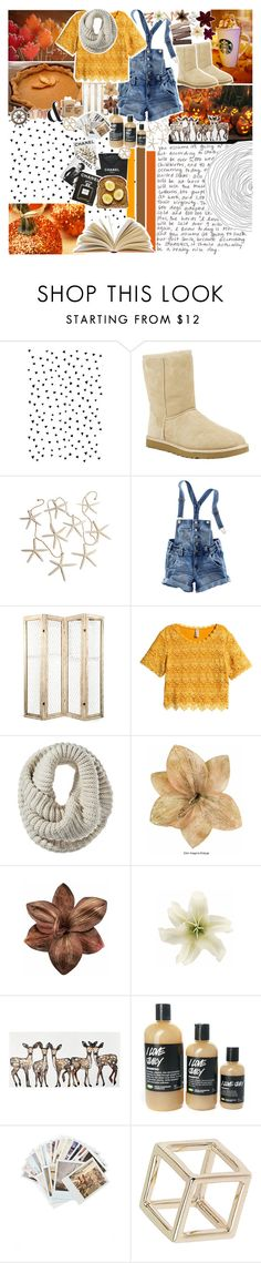 """""""- & - WAiT, DON'T TELL ME, HEAVEN iS A PLACE ON EARTH - & -"""" by angie-pie ❤ liked on Polyvore featuring UGG Australia, H&M, Mossimo, Clips, Again, Dermablend, Chronicle Books, Topshop, Chanel and Assouline Publishing"""