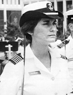On May 28, 1980 Midshipman Elizabeth Ann (Belzer) Rowe became the first of 55 women to graduate from the U.S. Naval Academy, which had been established back in 1845.
