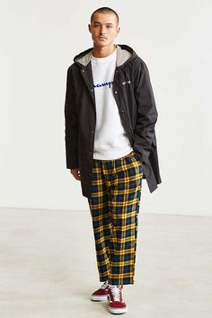Slide View: 6: UO Spencer Flannel Pant