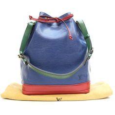 Louis Vuitton Noe Epi Shoulder bags Multi-Color Leather M44082