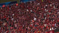Western Sydney Wanderers fans doing what they do best at ACL Final.