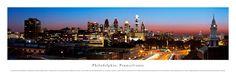 Philadelphia, Pennsylvania Skyline Panoramic Picture $29.95
