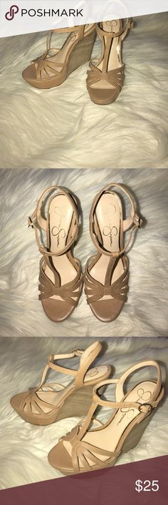 Great condition Jessica Simpson wedges Great condition Jessica Simpson wedges. Comfortable and super cute Jessica Simpson Shoes Wedges