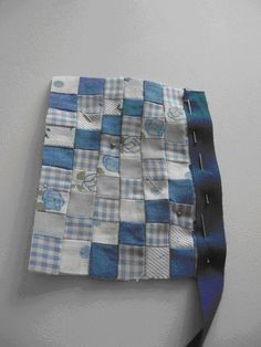 tutorial: miniature patchwork quilt