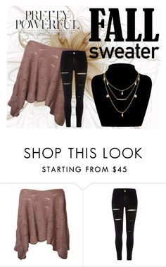 """Cozy yet Cute"" by hannahbates11 ❤ liked on Polyvore featuring River Island"