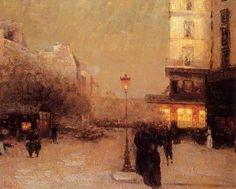 Luigi Loir (1945-1916), Paris at night
